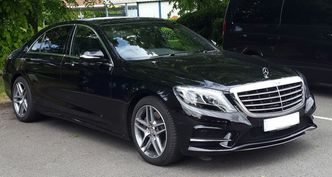 Mercedes S Class chauffeur London